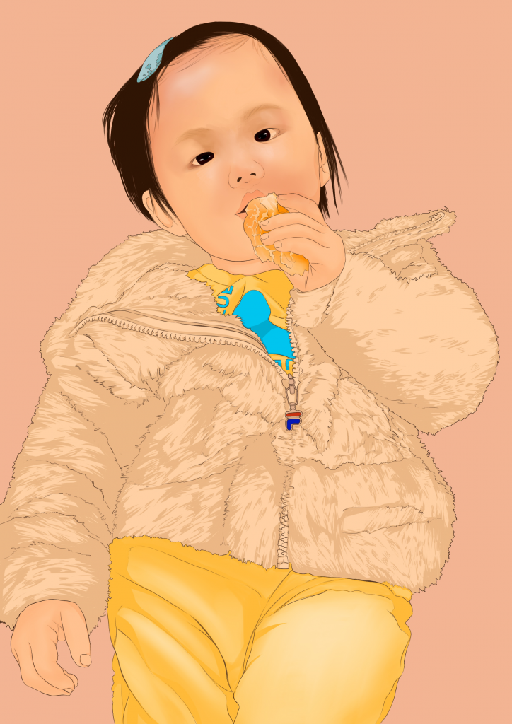 Amy Koo, Year 11 - Digital Drawing