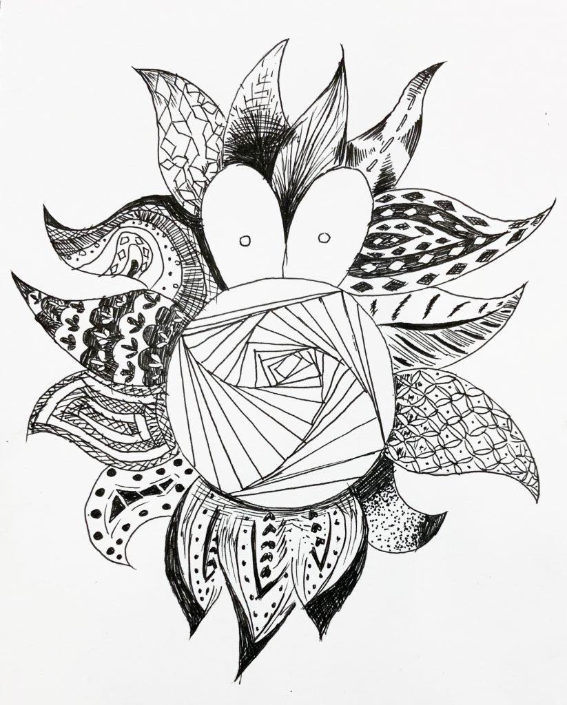 Maisie Liu_6X_Fry_pen artwork