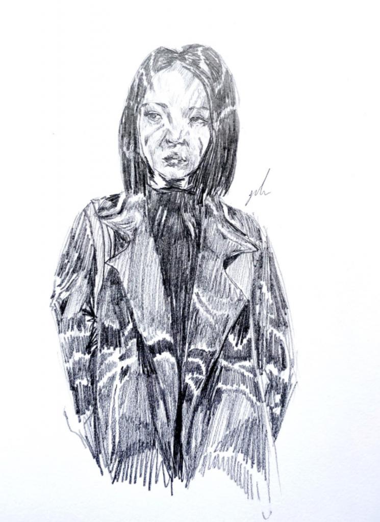 Yulu Wu, Year 13 - Pencil drawing